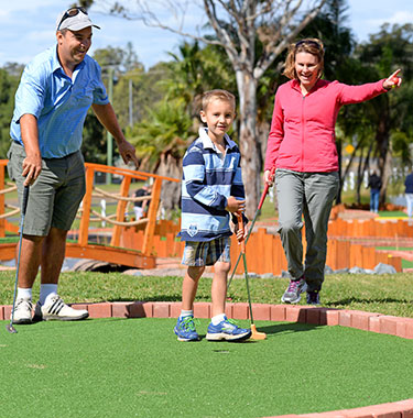 Port Macquarie mini golf
